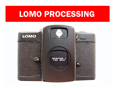 Lomo Film Processing by Photo Hippo