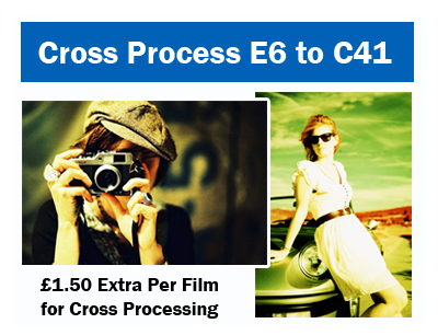 Cross processing your films Fuji Labs